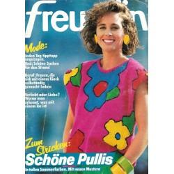 freundin Heft 13 / 5 Juni 1985 - Schöne Pullis