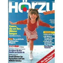 HÖRZU 1 / 9 bis 15 Januar 1987 - Die Woche des Sports