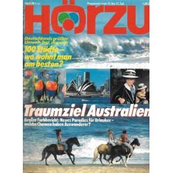 HÖRZU 28 / 11 bis 17 Juli 1987 - Traumziel Australien
