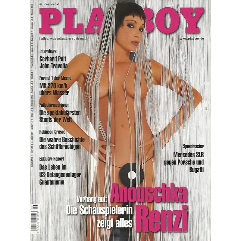 Playboy Nr.9 / September 2003 - Anouschka Renzi