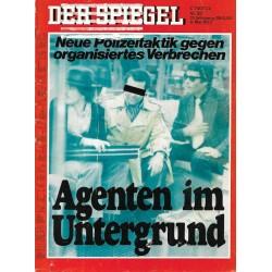 Der Spiegel Nr.20 / 9 Mai 1977 - Agenten in Deutschland