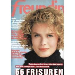 freundin Heft 22 / 14 Oktober 1987 - 66 Frisuren