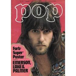 POP Nr.10 / 1972 - Keith Emerson