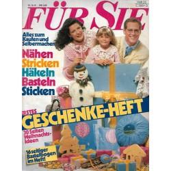 Für Sie Heft 22 / 15 Oktober 1981 - Erstes Geschenke Heft