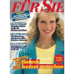 Für Sie Heft 10 / 27 April 1983 - Einfach besser aussehen