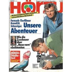 HÖRZU 45 / 10 bis 16 November 1990 - Unsere Abenteuer