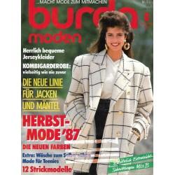 burda Moden 9/September 1987 - Herbstmode 1987