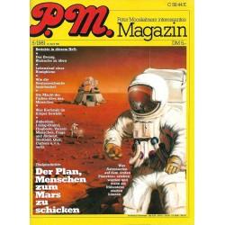 P.M. Ausgabe Mai 5/1981 - Der Plan: Menschen zum Mars zu schicken