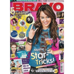 BRAVO Nr.19 / 29 April 2009 - Miley Cyrus, meine Star Tricks!