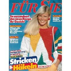 Für Sie Heft 5 / 16 Februar 1983 - Stricken und Häkeln
