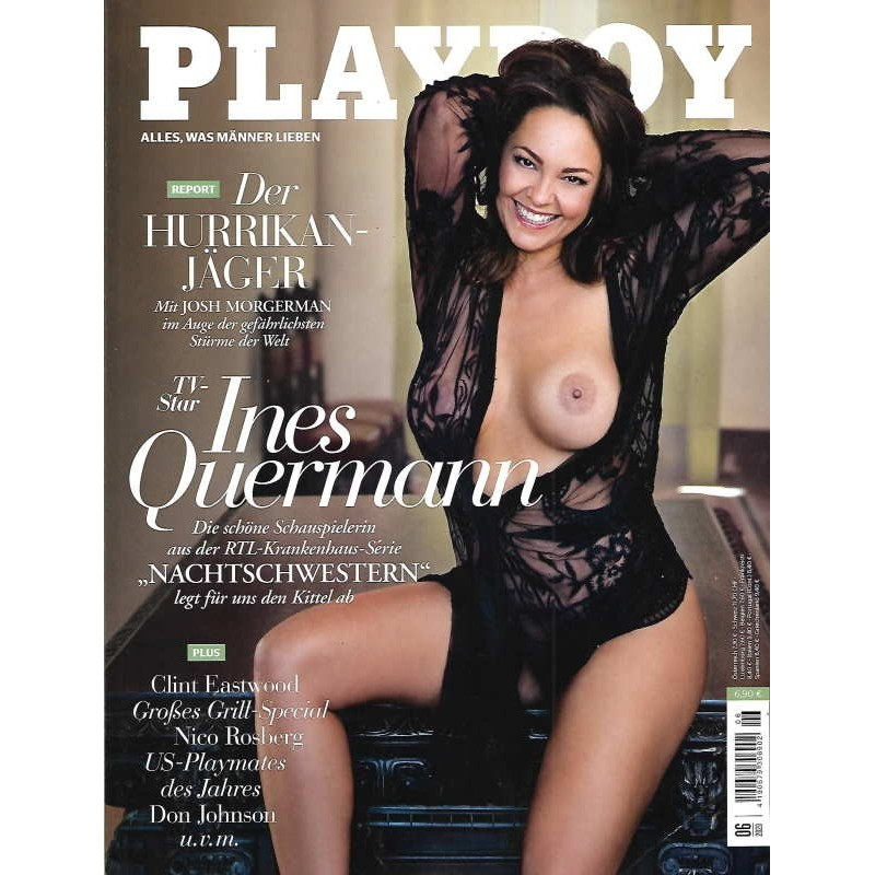 Playboy Nr.6 / Juni 2020 - Ines Quermann