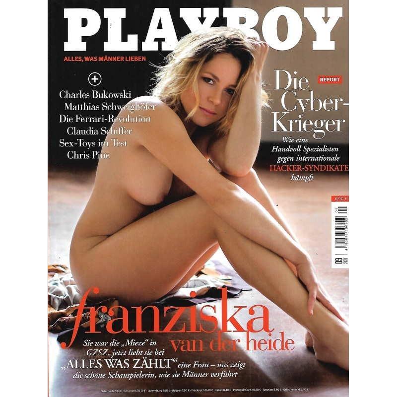 Playboy Nr.9 / September 2020 - Franziska van der Heide