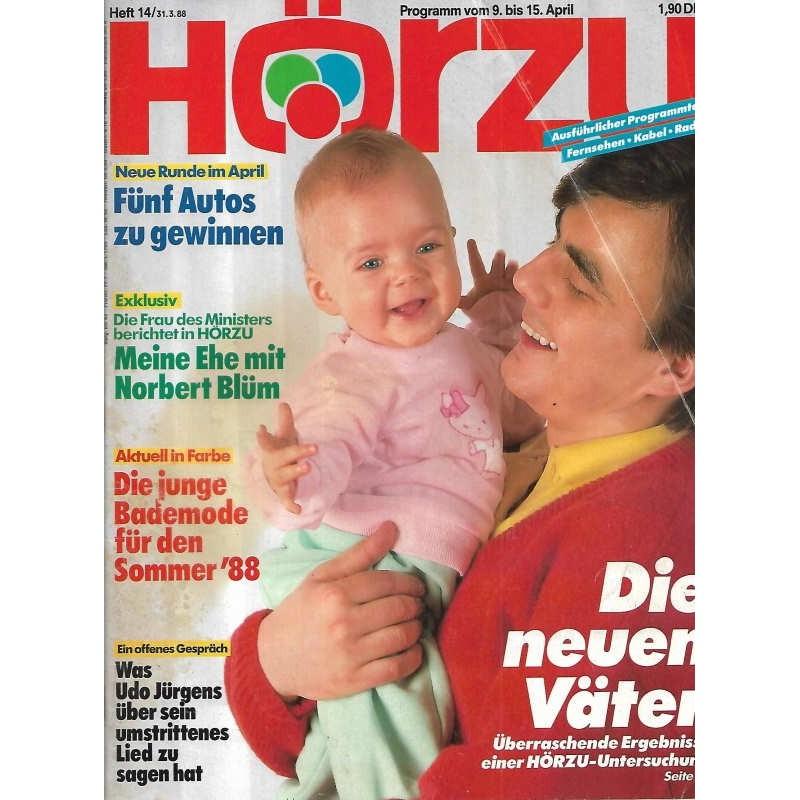 HÖRZU 14 / 9 bis 15 April 1988 - Die neuen Väter