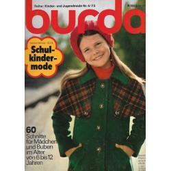 burda Schulkindermode Nr.4 / 1973 - Herbst Winter 73/74