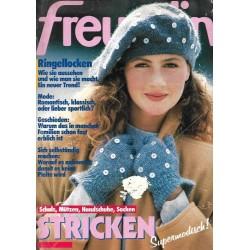 freundin Heft 21 / 30 September 1987 - Stricken