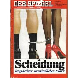 Der Spiegel Nr.27 / 27 Juni 1977 - Scheidung
