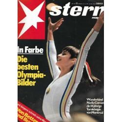 stern Heft Nr.32 / 29 Juli 1976 - Die besten Olympia Bilder