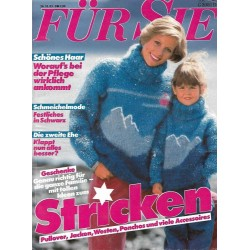 Für Sie Heft 23 / 26 Oktober 1983 - Stricken