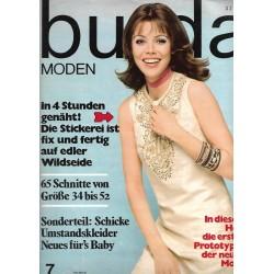 burda Moden 7/Juli 1970 - Edle Wildseide