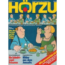HÖRZU 36 / 5 bis 11 September 1987 - Loriots Szene