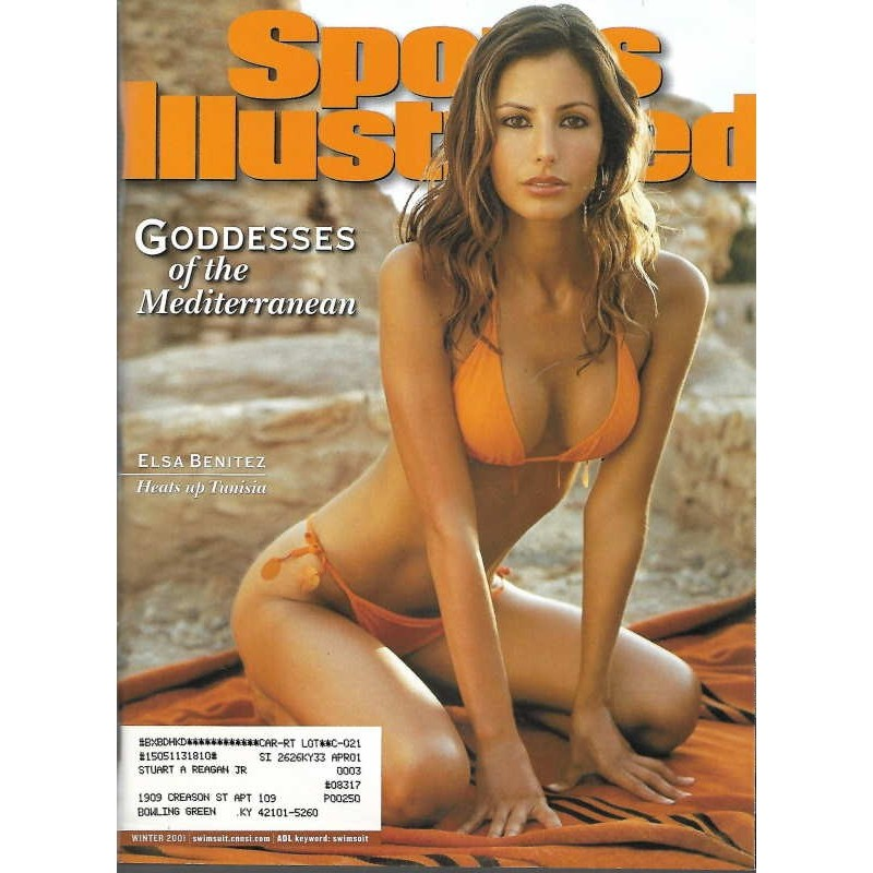 US-Sports Illustrated Winter 2001 - Elsa Benitez