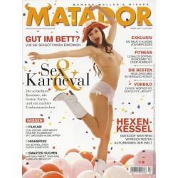 Matador März 2007 - Sex & Karneval