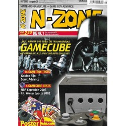 N-Zone 03/2002 - Ausgabe 58 - Gamecube
