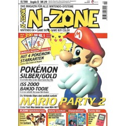 N-Zone 02/2000 - Ausgabe 33 - Mario Party 2