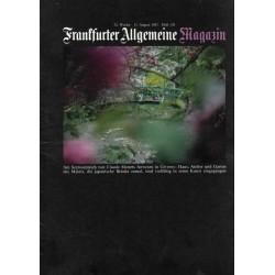 Frankfurter Allgemeine Magazin Heft 128 / Aug. 1982 - Claude Monets