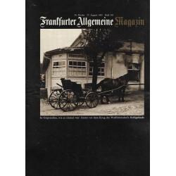 Frankfurter Allgemeine Magazin Heft 130 / Aug. 1982 - Ostpreußen