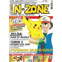 N-Zone 03/2000 - Ausgabe 34 - Pokemon Silber / Gold