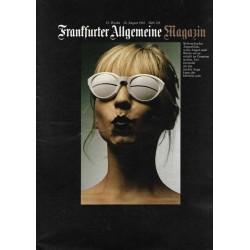 Frankfurter Allgemeine Magazin Heft 129 / Aug. 1982 - Brille
