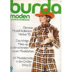 burda Moden 9/September 1970 - Kollektion Herbst 1970