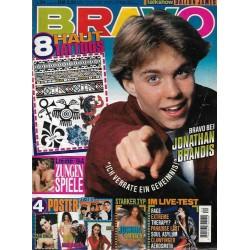 BRAVO Nr.24 / 9 Juni 1994 - Jonathan Brandis bei Bravo
