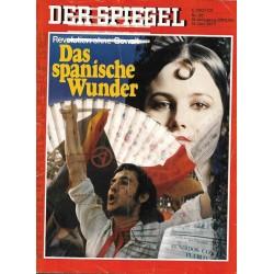 Der Spiegel Nr.25 / 13 Juni 1977 - Das spanische Wunder
