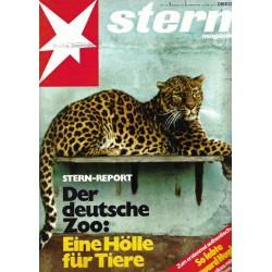 stern Heft Nr.1 / 23 Dezember 1976 - Der deutsche Zoo