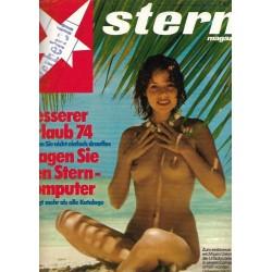 stern Heft Nr.1 / 27 Dezember 1973 - Besserer Urlaub 74