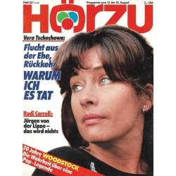 HÖRZU 32 / 12 bis 18 Aug. 1989 - Vera Tschechowa