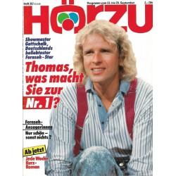 HÖRZU 38 / 23 bis 29 September 1989 - Thomas die Nr.1