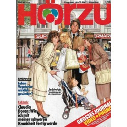 HÖRZU 46 / 15 bis 21 November 1986 - Der Einkaufstip