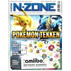 N-Zone 04/2016 - Ausgabe 228 - Pokemon Tekken