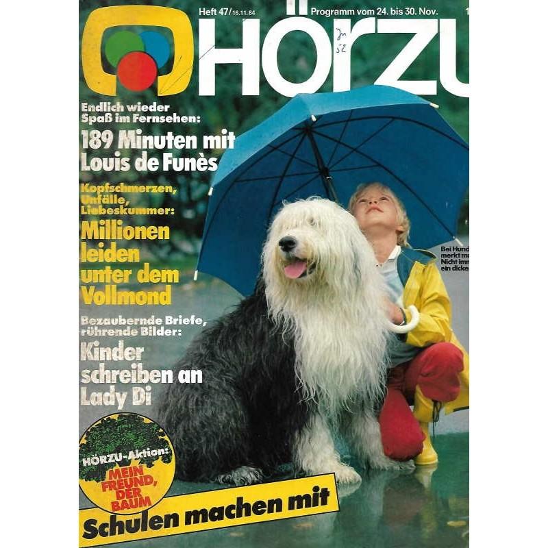 HÖRZU 47 / 24 bis 30 November 1984 - Hundewetter
