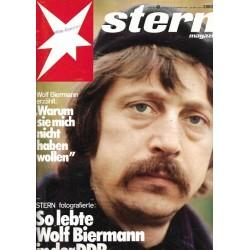 stern Heft Nr.49 / 25 November 1976 - Wolf Biermann