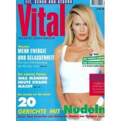 Vital 5/Mai 1996 - Fitness der Stars z.B. Claudia Schiffer