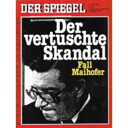 Der Spiegel Nr.12 / 14 März 1977 - Fall Maihofer