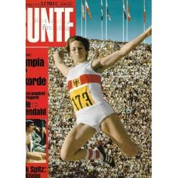 BUNTE Nr.38 / 7 September 1972 - Olympia der Rekorde