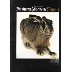 Frankfurter Allgemeine Magazin Heft 110 / April 1982 - Hase