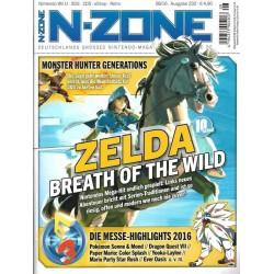 N-Zone 08/2016 - Ausgabe 232 - Zelda Breath of the Wild
