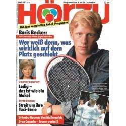 HÖRZU 49 / 9 bis 15 Dezember 1989 - Boris Becker