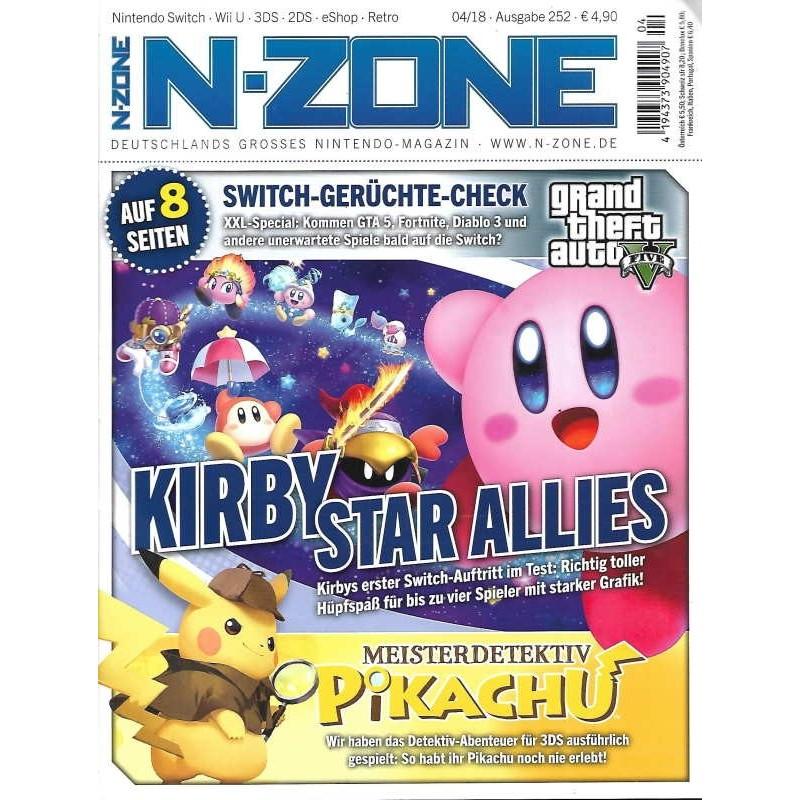 N-Zone 04/2018 - Ausgabe 252 - Kirby Star Allies